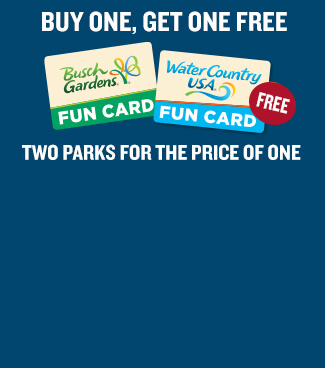 Busch Gardens Williamsburg 2-Park Fun Card