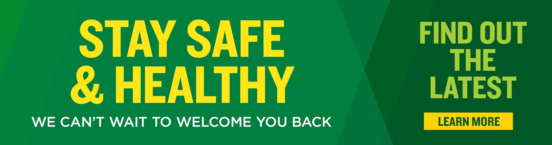 Busch Gardens Wiliamsburg Stay Safe & Healthy