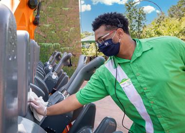 Busch Gardens Rider Operator
