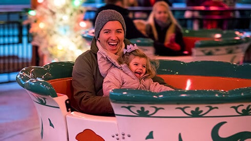 Take a ride on our family-friendly attractions
