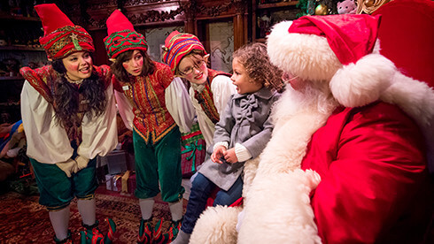 Meet Santa Claus at Christmas Town