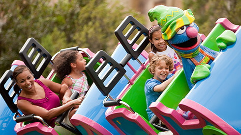 Find out what rides your kids can enjoy at the park