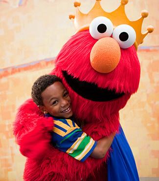 Meet your favorite Sesame Street friends