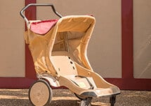 Stroller rentals available