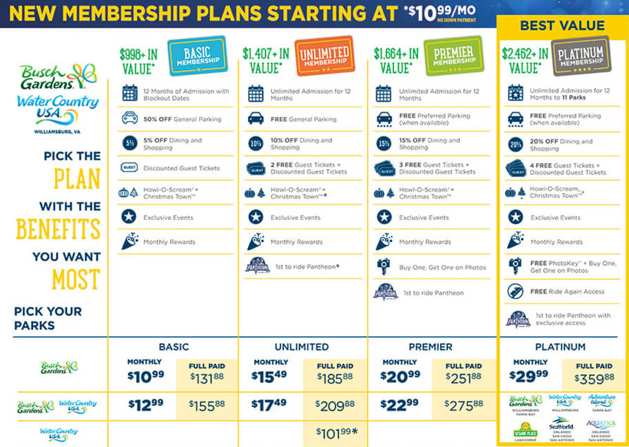 Find the right Membership plan for you!