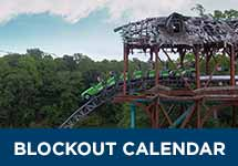 View the blockout calendar for Basic Membership Plans