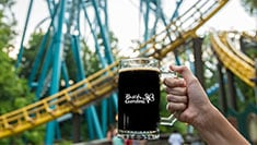 Reunite with the thrills of some of your favorite coasters paired with a selection of over 20 local and craft brews at the World's Most Beautiful Theme Park
