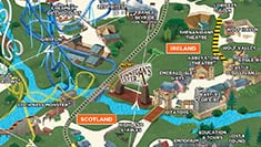 Busch Gardens Williamsburg Park Map