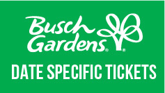 Busch Gardens Williamsburg Tickets