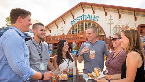 Taste a wide variety of craft beers at Bier Fest