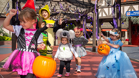 Families with young children can enjoy this Halloween event just for kids