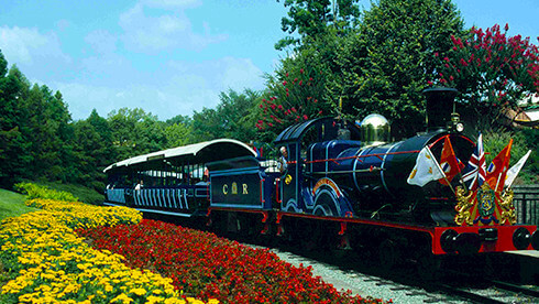 Trains and buses to Williamsburg, Virginia and stations near Busch Gardens