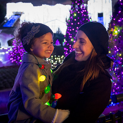 See more than 8 million Christmas lights at Busch Gardens