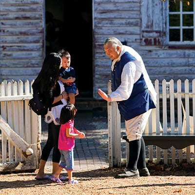 Colonial Williamsburg in Virginia