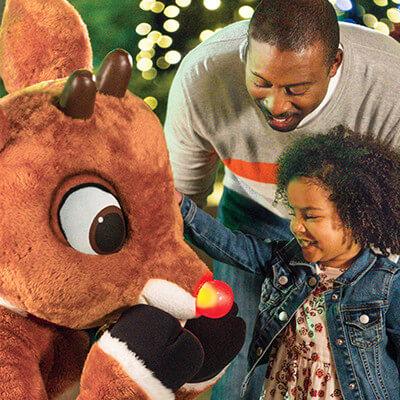 Meet Rudolph the red-nosed reindeer & friends at Rudolph's Winter Wonderland