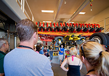 Behind-the-scenes tours at Busch Gardens Williamsburg