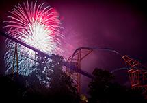 Summer fireworks at Busch Gardens