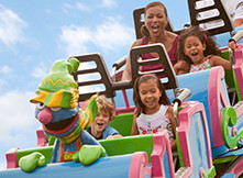 Plenty of rides for kids and families to enjoy