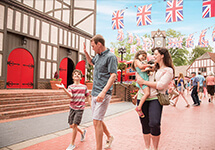 Bring your friends and family to Busch Gardens during your spring break