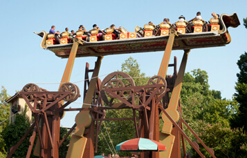 Da Vinici's Cradle at Busch Gardens Williamsburg