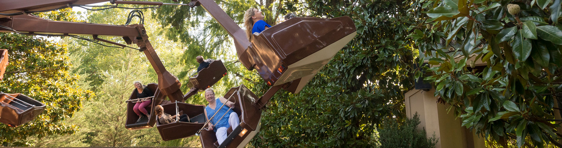 The Flying Machine - Spinning Ride