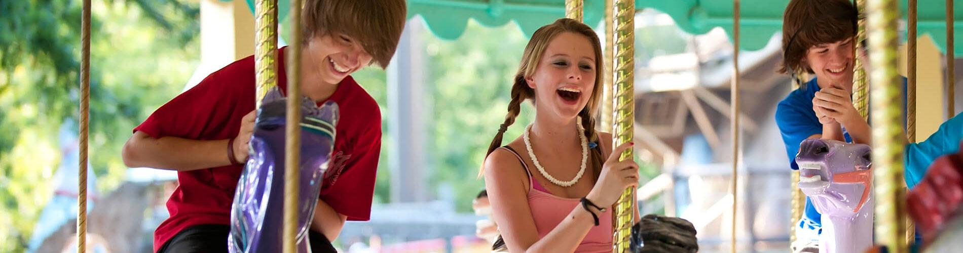 Kinder-Karussel - Merry-go-round, carousel