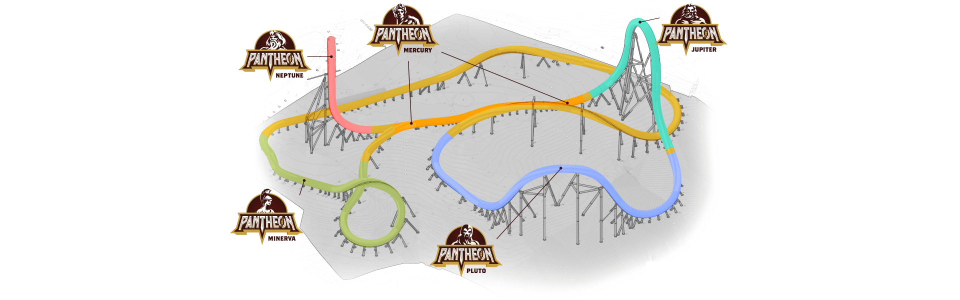 Pantheon all-new roller coaster coming in 2020!