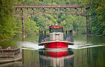 Rhine River Cruise leisure ride at Busch Gardens Williamsburg