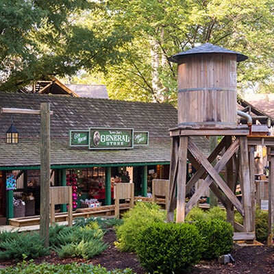 Trapper Dave's General Store at Busch Gardens Williamsburg, VA