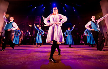 Celtic Fyre Irish step dancing show at Busch Gardens Williamsburg