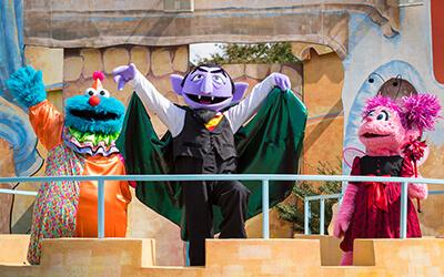 Countdown to Halloween kids show at Busch Gardens Williamsburg