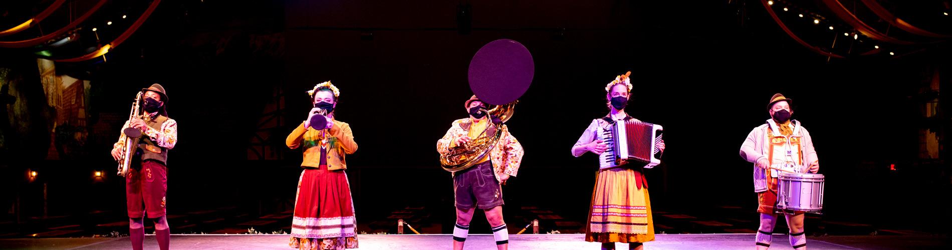 Oom-pah Band at Das Festhaus