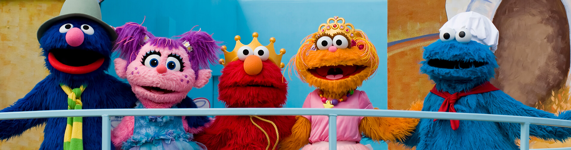 Sunny Days - Sesame Street Characters