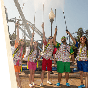 Summer Nights Spritzer Squad at Busch Gardens