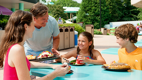 Save money with a Dining Plan at Water Country USA
