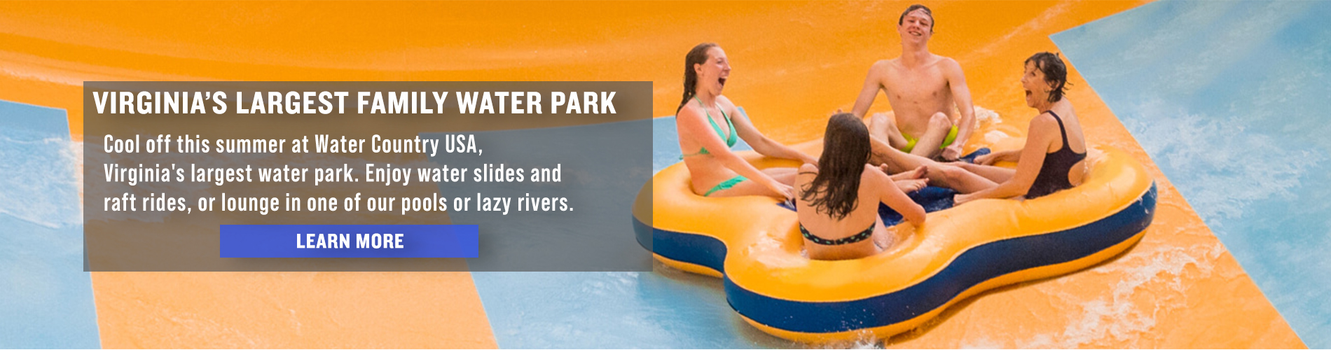 Virginia's Largest Family Water Park