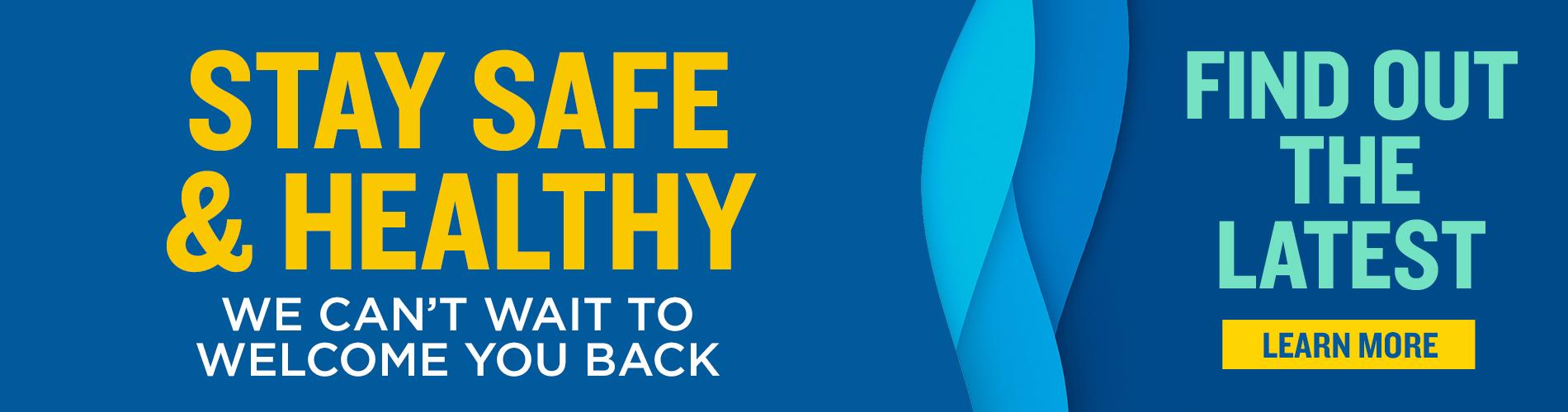 Busch Gardens Williamsburg - Stay Safe & Healthy