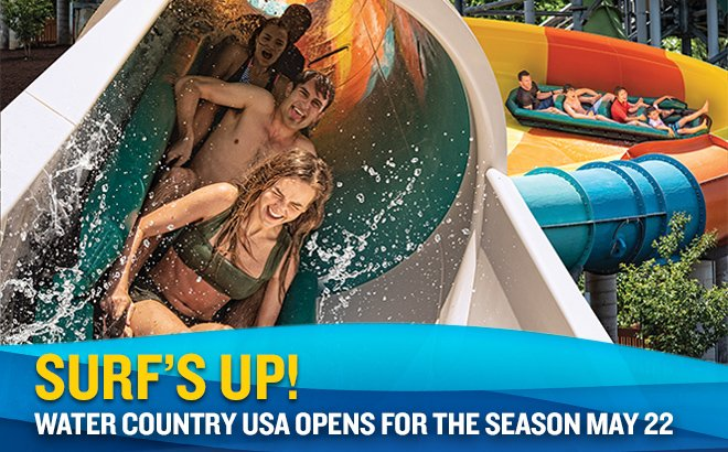 Water Country USA opens May 22