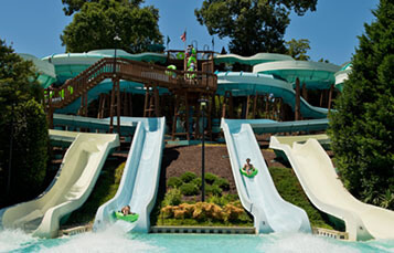 Jet Scream water slide at Water Country USA