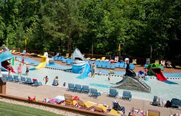 Kritter Korral kids' play area at Water Country USA