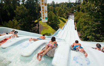 Nitro Racer water slide at Water Country USA