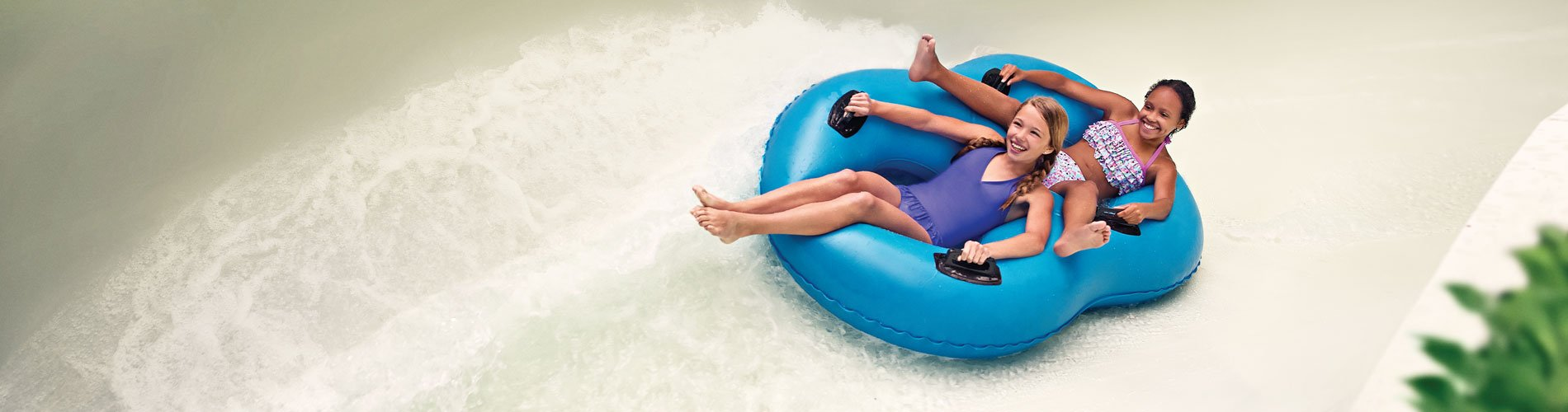 Wild Thang - thrilling flume ride at Water Country USA