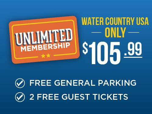Water Country USA Unlimited Membership