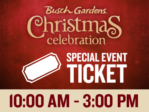 Busch Gardens Williamsburg Christmas Celebration