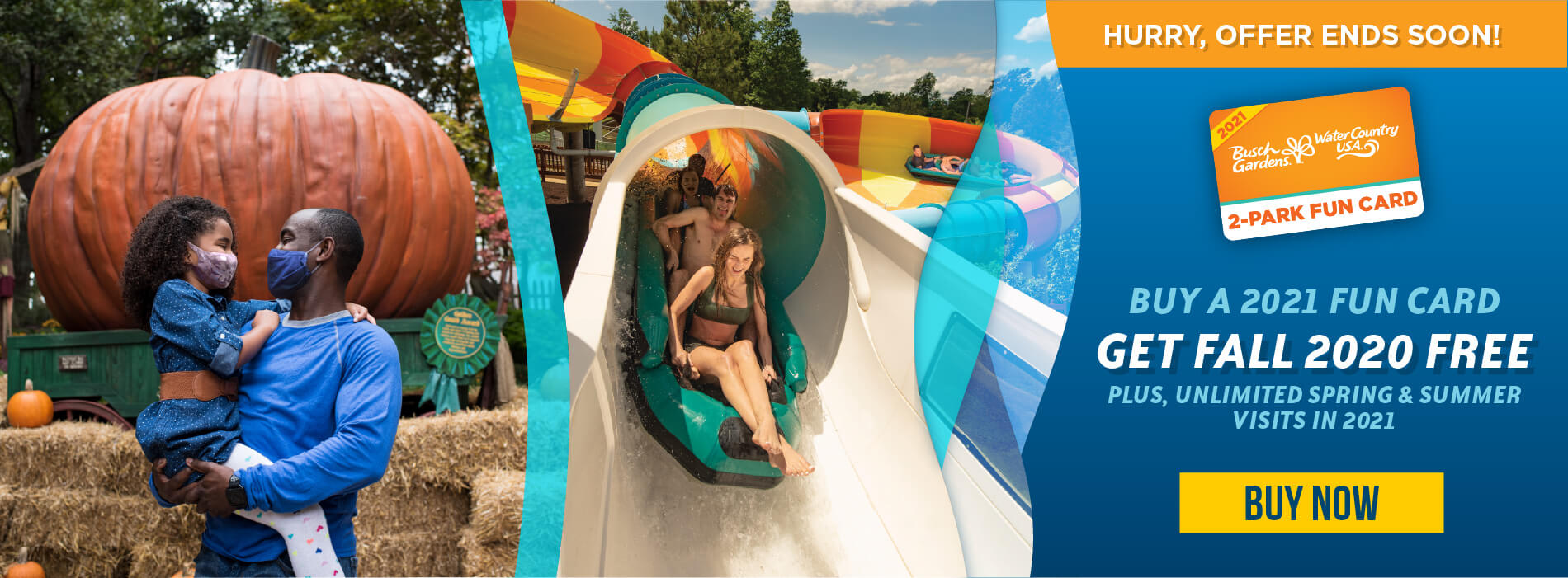 Water Country USA Fun Card Offer