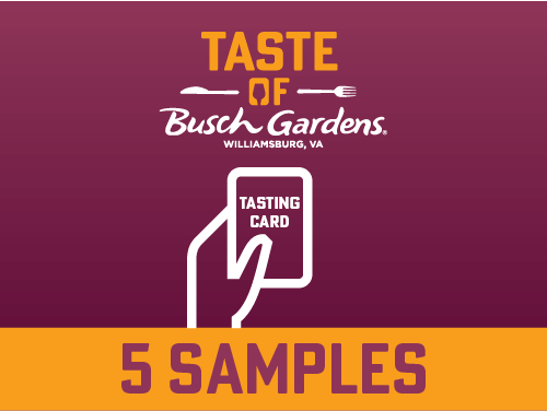 Taste of Busch Gardens Williamsburg Special Event