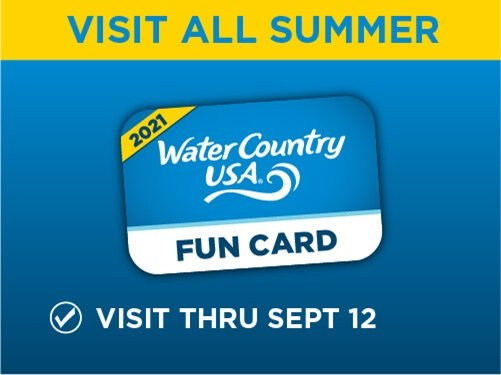 Water Country USA Fun Card
