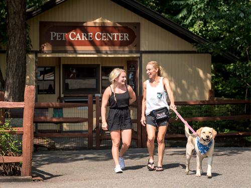 Busch Gardens Williamsburg Pet Kennel