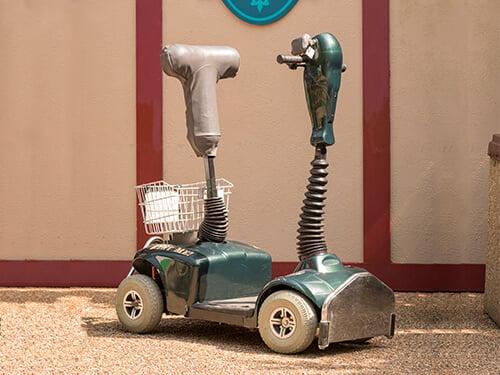 Busch Gardens Williamsburg Standing Scooter Rental