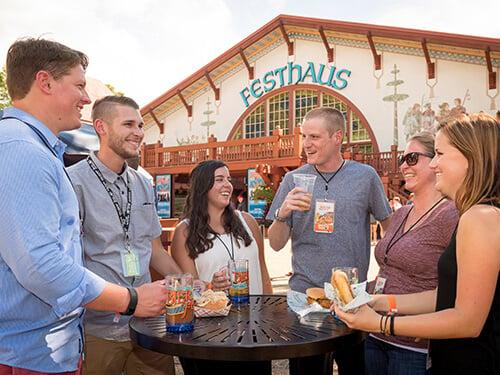 Busch Gardens Williamsburg Bier Fest Sampler
